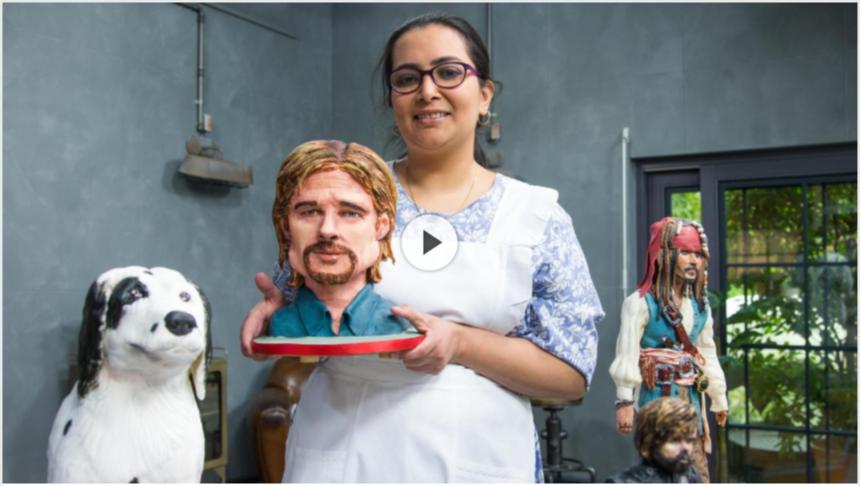 Meera Jamal's dazzling cake sculptures